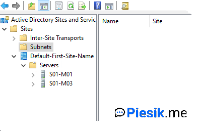 """""""[PL] Active Directory Sites and Services"""""""