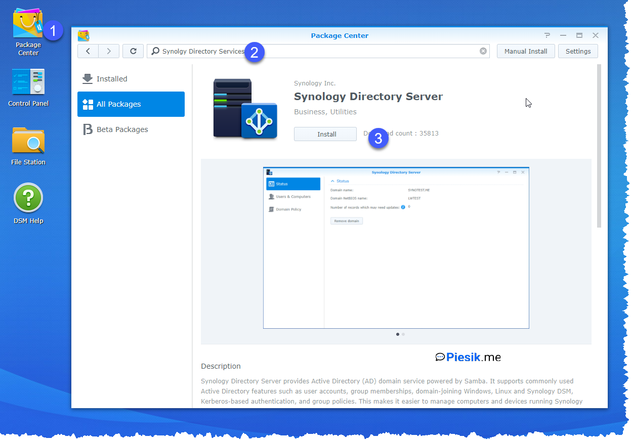 """[PL] ""Active Directory"" na Synology NAS"""