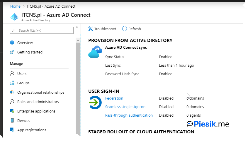 """[PL] Azure AD Connect"""