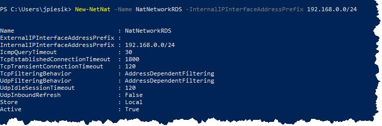 Azure Nested Virtualization - Internet Connection