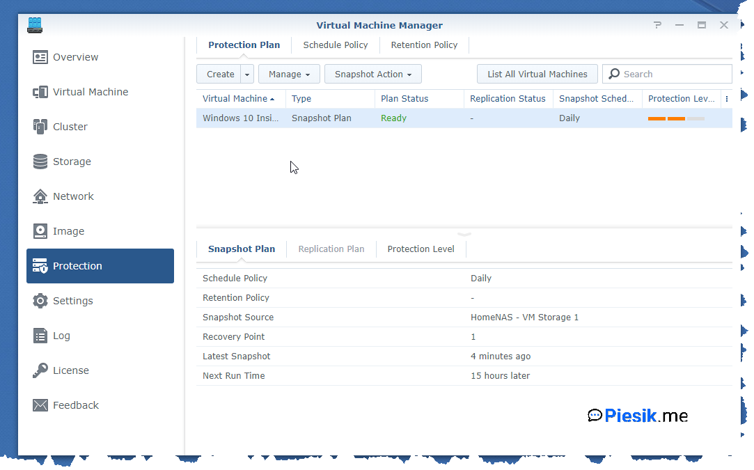"""[PL] Synology NAS - Virtual Machine Manager"""
