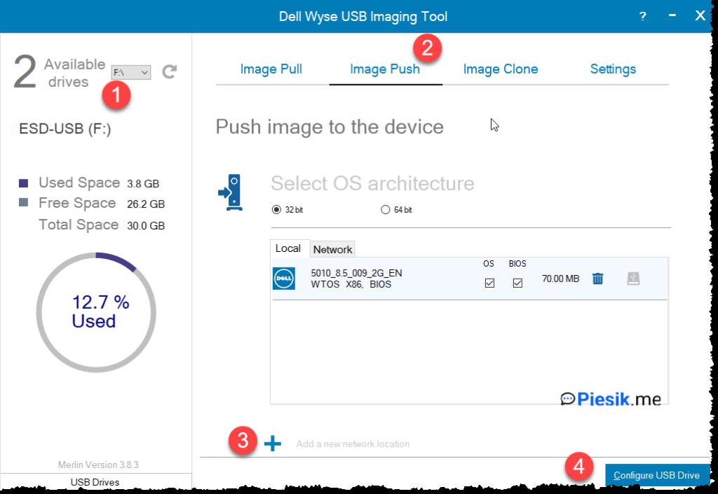 Dell Wyse Dx0D D50D – przywracamy terminal do życia