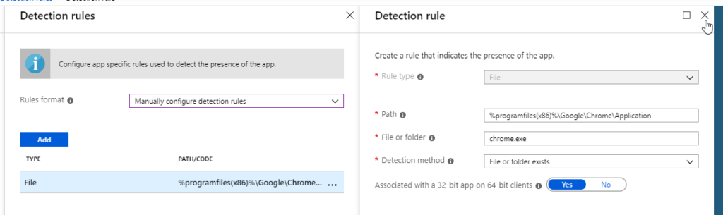 Deployment Chrome za pomocą Intune