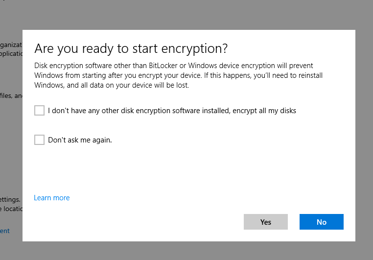 [PL] Intune – Bitlocker Windows 10