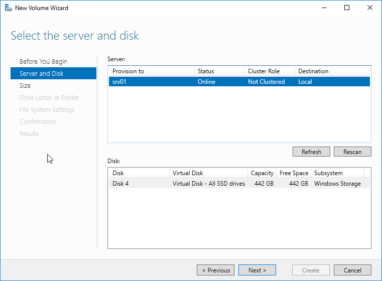 [PL] Storage Spaces – Windows Server 2016