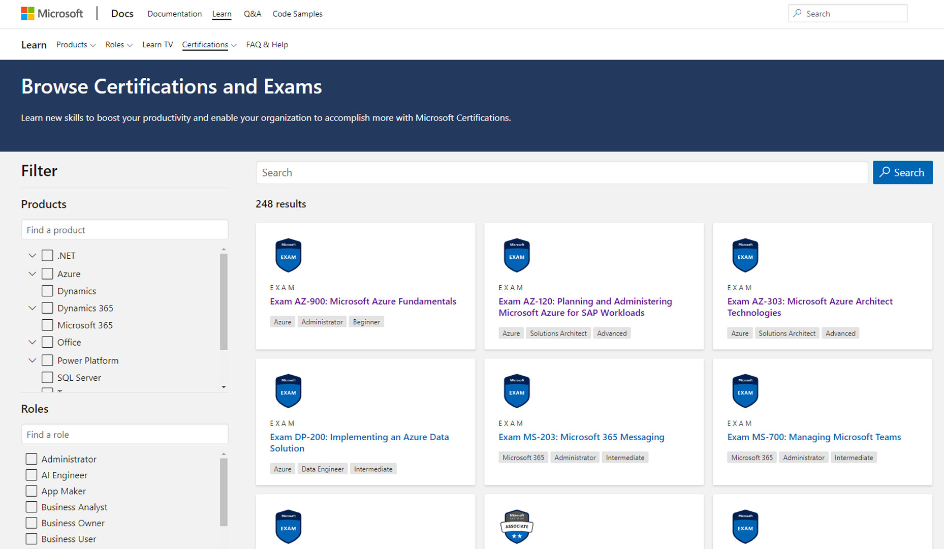 Microsoft Exams - Free vouchers for exams. Version for November 2020